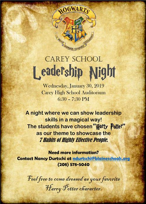 Leadership night