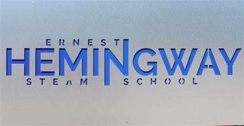 Hemingway STEAM School sign