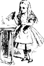 clipart of Alice