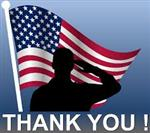Memorial day clipart: Thank You