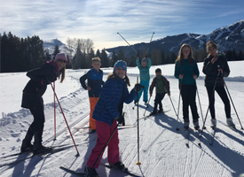 Student Nordic Skiers