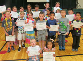 Students get Perfect Attendance