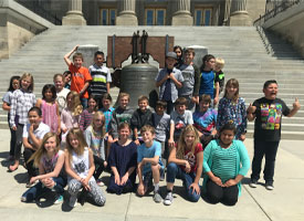 Students Tour the State Capital
