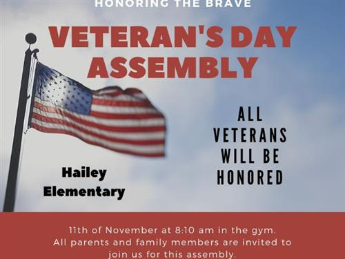 Join Us In Honoring Our Veterans