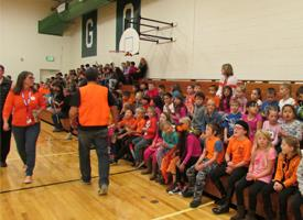 Students Stand Up For Unity Day