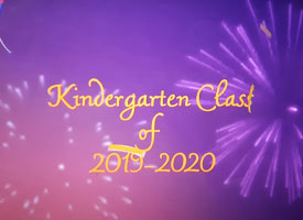 Kindergarten Virtual Class of 2020