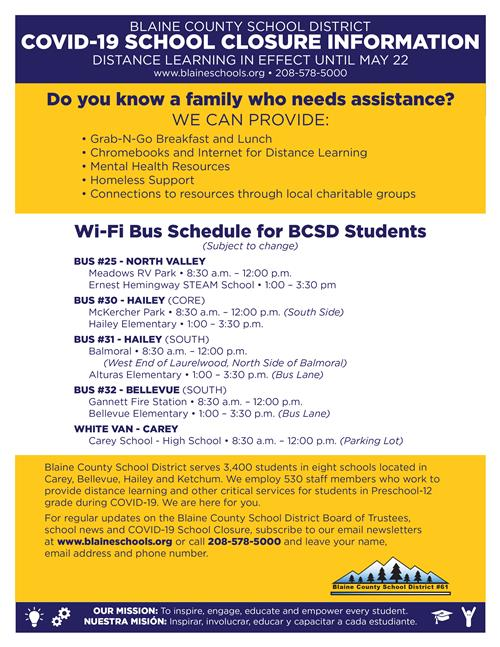schedule for mobile wi-fi