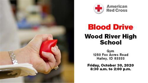 Blood Drive October 30