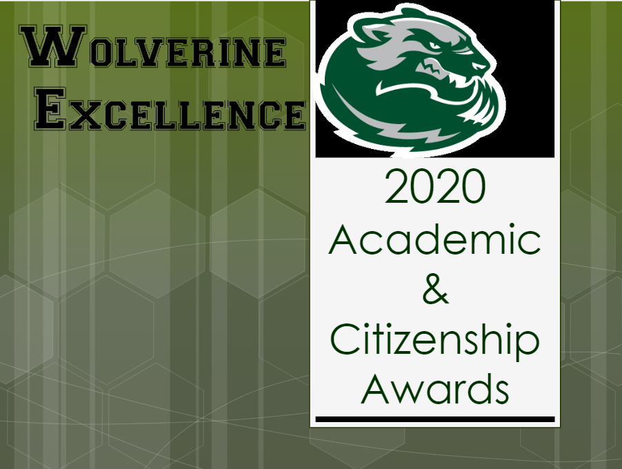 2020 Academic & Citizenship Awards