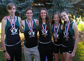 Great Results at Cross Country District Meet