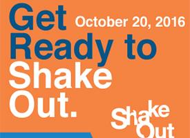 Shake Out Earthquake Drill Happening Thursday