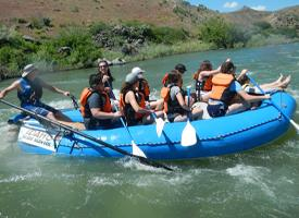 WRMS Outdoor Recreation Program Goes Rafting