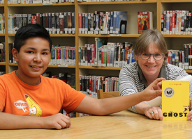 WRMS Librarian Engages in a School wide Summer Reading Program