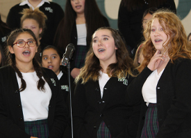 WRMS Students Honor Veterans