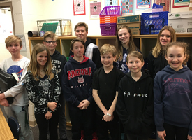 Wood River Middle School Students Participate in the National Geographic Bee