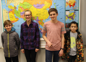 WRMS Students Participate in GEO BEE