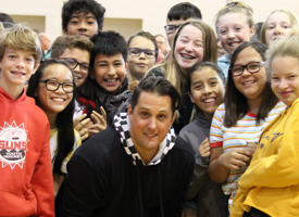 PABLO CARTAYA INSPIRES AND EMPOWERS WRMS STUDENTS