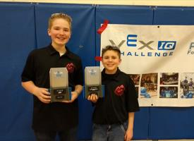 Wood River Middle School 7th Grade Robotics Team Wins State Tournament