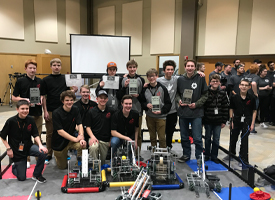 WRMS students take top honors at Idaho State University's Robotics Tournament.