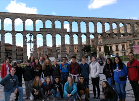 WRMS Students in Spain
