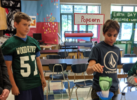 WRMS  Students Inspired to Build and Present Water Treatment Systems