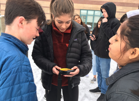WRMS Students Study Avalanche Awareness