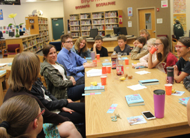 WRMS Book Club discussion