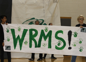 WRMS Celebrates School Spirit