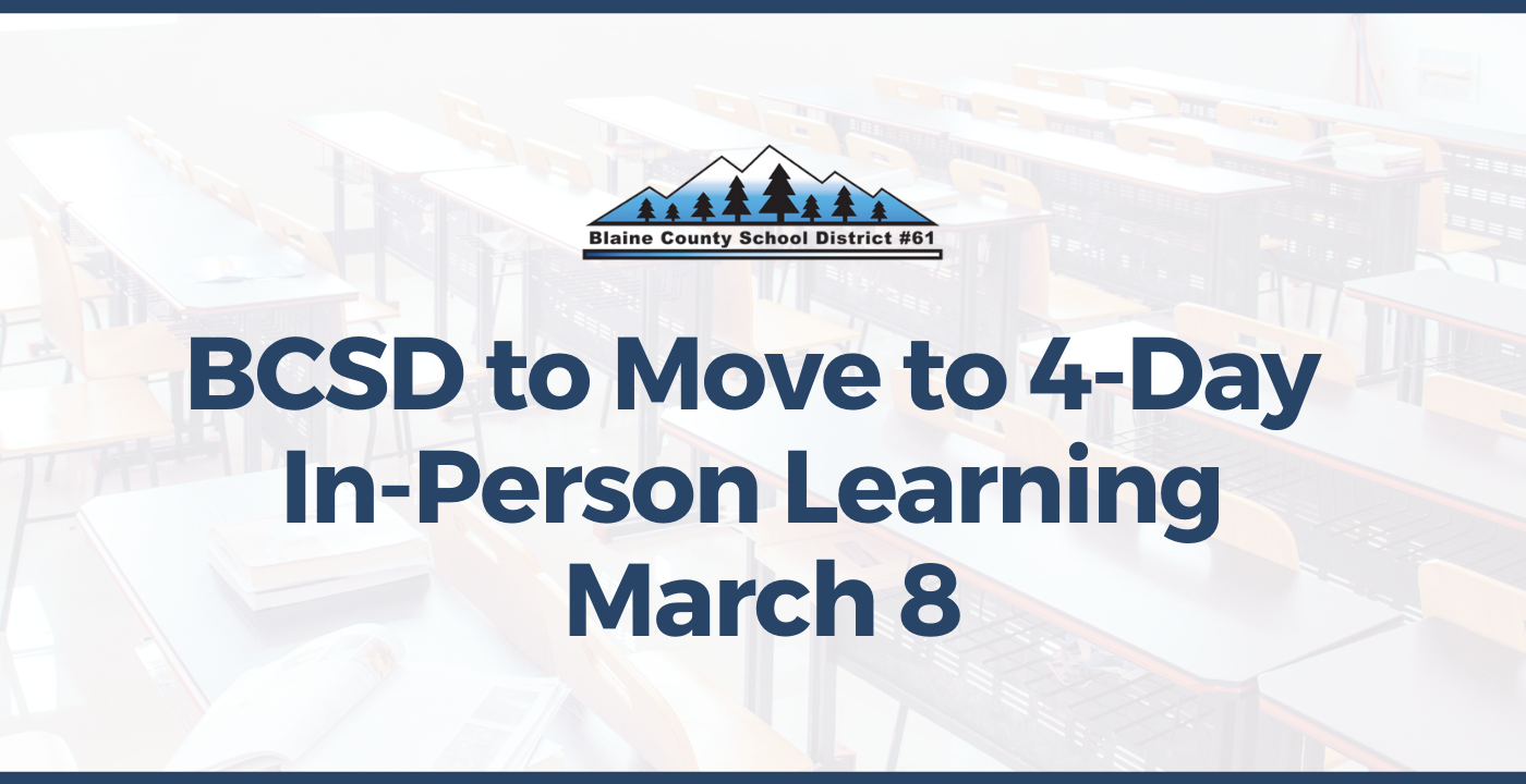 BCSD Moves to 4-Day In-Person Learning for Grades 6-12