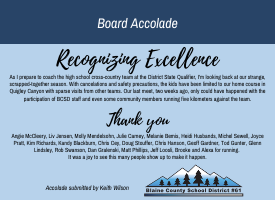 BOARD ACCOLADE