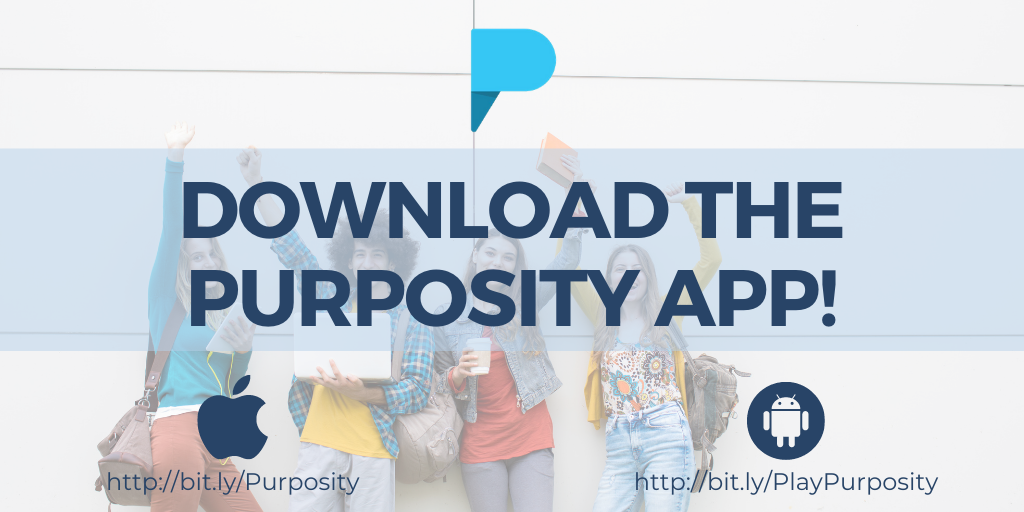 Download the Purposity app!