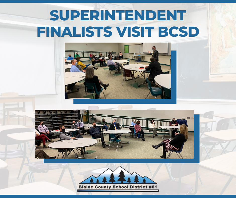 Superintendent Finalists Selected