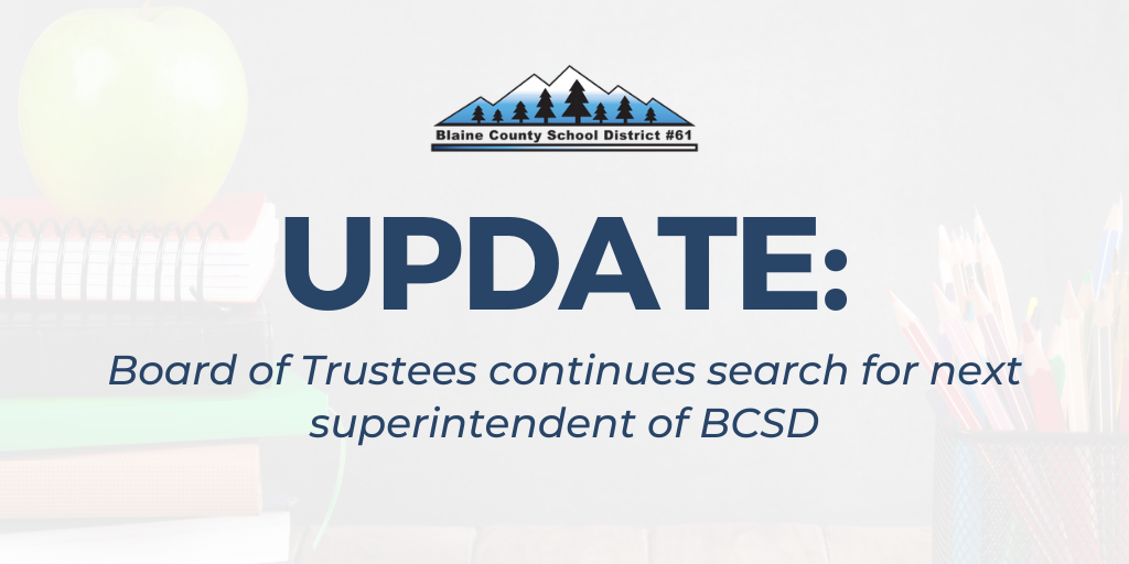 Update on the BCSD Superintendent Search Process