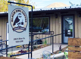 Black Owl Coffee in Hailey Idaho