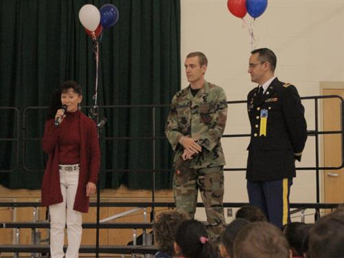 Veterans Day celebration at Alturas Elementary