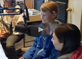 Students at KDPI radio station