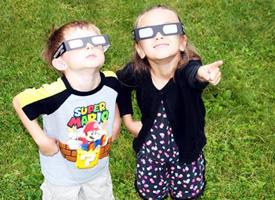 5,000 Eclipse Glasses Distributed to Children and Families