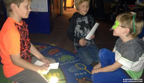 Classroom Transformed into Nocturnal Zoo