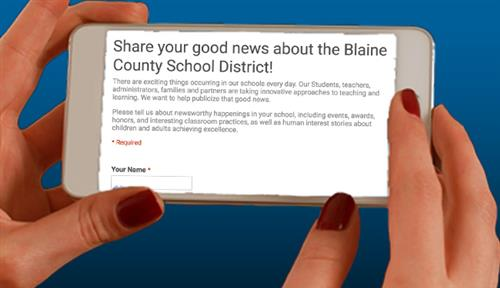 Share your news with BCSD