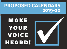 TAKE THE CALENDAR SURVEY