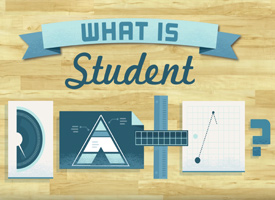 Graphic of the question What is Student Data?