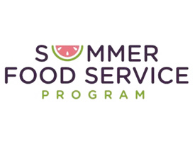 Summer Food Service Program Logo