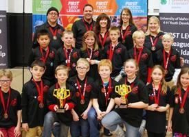Students Compete and Win in Robotics and Innovation Program