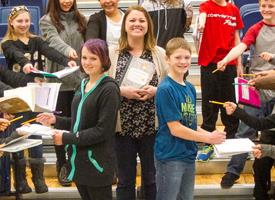 Students Recognized for Excellence in Writing