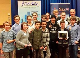 WRMS Students Excel in Future City Competition