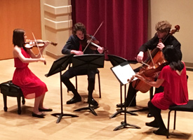 Harriman Quintet Performing at state competition in Post Falls Idaho