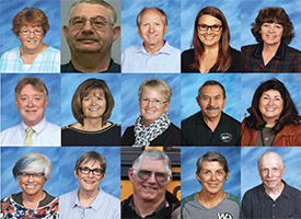 Headshots of teachers retiring from the Blaine County School District