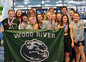 Wood River High School Swim Team