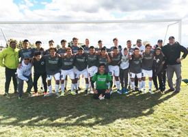 Wood River High School Boys Soccer Team