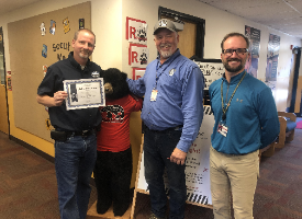 CUSTODIANS RECOGNIZED FOR OUTSTANDING SAFETY PRACTICES
